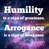 Selective humility is opportunism